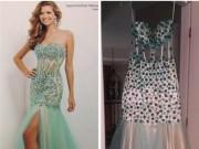Thời trang - Chị em đừng dại dột mua đầm dự tiệc qua mạng trực tuyến
