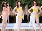 Clip Eva - Video: Ngắm top 33 Hoa hậu Việt Nam khoe dáng nóng bỏng với bikini