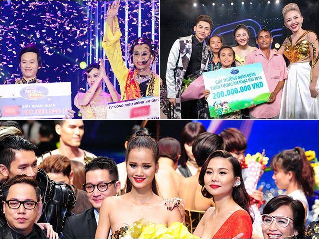Show truyền hình nào có giải thưởng cao nhất Việt Nam hiện nay?