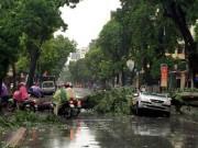 Tin tức - Ngày mai bão số 3 sẽ gây mưa lớn, gió giật mạnh ở Hà Nội