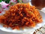 Bếp Eva - Cá ngần rim dừa sấy khô để dành ăn dần