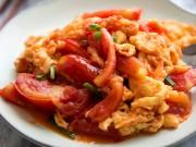 Bếp Eva - Trứng chưng cà chua: Món ăn ngon, rẻ tiền cứu cánh ngày mưa gió
