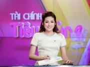 Làng sao - Á hậu Tú Anh trong ngày đầu dẫn chương trình trên VTV