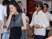 Làng sao - Bà xã Bae Yong Joon ốm nghén, liên tục lấy tay che miệng tại sân bay