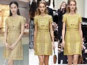 Thời trang - Bạn gái Cường đô la mặc váy xuyên thấu hàng hiệu giá trăm triệu