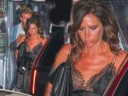 Làng sao - Bị chụp hình sau tin Beckham ngoại tình, Victoria mặt mày cau có