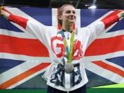 Eva tám - Cô gái vượt lên bệnh tật đem về tấm HCB Olympic bộ môn nhảy đệm đầu tiên cho nước Anh
