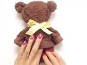 Clip Eva - Video: Hướng dẫn làm gấu teddy siêu Cute từ khăn rửa mặt