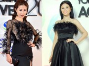Thời trang - Thời trang sao Việt xấu tuần qua: Diễm My, Đông Nhi cộng chục tuổi vì váy lông vũ