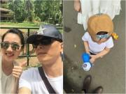 Làng sao - Con trai Ngô Quang Hải đã ra dáng hot boy