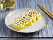 Bếp Eva - Trứng cuộn rong biển, phô mai siêu ngon