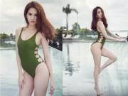 Thời trang - Clip này khiến không ai còn nghĩ body tuyệt đẹp của Ngọc Trinh là photoshop