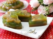 Bếp Eva - Bánh Trung thu rau câu vị cà phê trà xanh ăn nhanh kẻo hết!