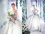 Thời trang - Next Top Model: Thanh Hằng diện váy cưới gần 1 tỷ đồng