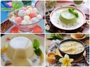 Bếp Eva - 4 món chè mát lạnh cho ngày nắng nóng