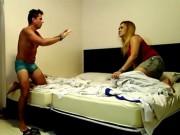 Clip Eva - Video: Chàng trai ngủ quên với gái lạ và cái kết