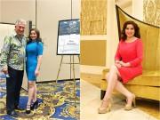 Hoa hậu Kim Hồng đẹp rạng rỡ làm giám khảo tại Mỹ