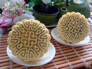 Bếp Eva - Bánh Trung thu vị bơ nhân dứa bí đao cho người ít ăn ngọt