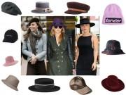 Thời trang - Những chiếc mũ hoàn hảo cho mùa thu của mỹ nhân thế giới