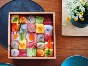 Từ sushi miếng, người Nhật chuyển sang mê mẩn sushi ghép hình