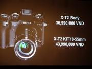 Fujifilm ra mắt máy ảnh X-T2 tại Việt Nam, giá từ 36,9 triệu đồng