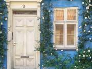 Nhà đẹp - Chán đăng ảnh tự sướng, giờ mọi người thích khoe cửa nhà