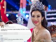 Làng sao - Hoa hậu Việt Nam 2016: Lộ bằng chứng nghi hoa hậu Đỗ Mỹ Linh xúc phạm thầy cô