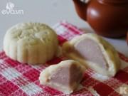 Bếp Eva - Thích mê bánh Trung thu dẻo nhân khoai môn