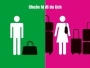 Eva Yêu - Sự khác biệt quá lớn giữa đàn ông và phụ nữ qua chùm ảnh vui