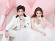 Làng sao - Không ngọt ngào bên bạn trai, Lưu Diệc Phi chụp hình cưới với Dương Dương