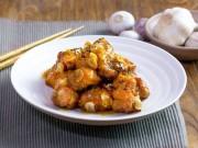 Bếp Eva - Thịt sườn sốt cam, tỏi đầy hấp dẫn