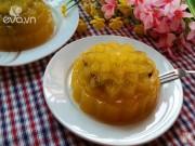 Bếp Eva - Bánh Trung thu rau câu vị xoài nhân đậu đỏ siêu hấp dẫn