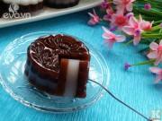 Bếp Eva - Bánh Trung thu rau câu vị cacao thanh mát