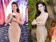 Thời trang - Nhà thiết kế khẳng định HH Đỗ Mỹ Linh không mặc lại váy của Huyền My
