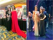 Hoa hậu Kim Hồng rạng rỡ bên dàn người đẹp Mỹ