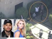 Làng sao - Chris Brown vừa bị bắt vì chĩa súng vào đầu cựu Hoa hậu California