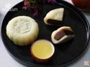 Bếp Eva - Bánh Trung thu dẻo nhân đậu đỏ