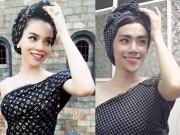 """Thời trang - The Face Việt Nam: Fan choáng váng khi xuất hiện """"bản sao"""" Hà Hồ"""