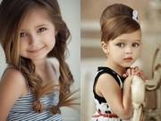 Làm mẹ - 7 kiểu tóc đẹp cực dễ làm cho bé gái đi khai giảng năm học mới