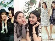 """3 cặp chị em """"chân dài"""" đình đám showbiz Việt"""