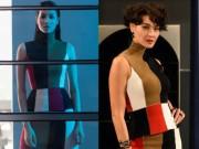 Thời trang - Phạm Hương bất ngờ mặc lại váy của HLV The Face Thái Lan