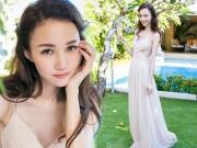 Làng sao - Cô dâu của F4 Chu Hiếu Thiên đẹp như thiên thần trong tiệc độc thân