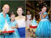 Làng sao - Vợ chồng Phan Đinh Tùng thắm thiết hát tặng sinh nhật con gái