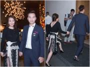 Làng sao - MC Thành Trung lần đầu dẫn bạn gái đi sự kiện