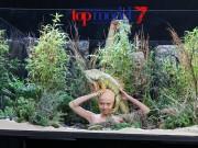 Thời trang - VNTM tập 8: hot girl nấm lùn ôm rắn và hôn rồng trong thử thách chụp hình