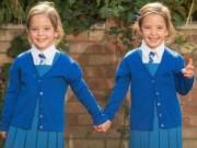 Tin tức - Chị em song sinh dính liền nổi tiếng ở Anh đón ngày khai giảng đầu tiên