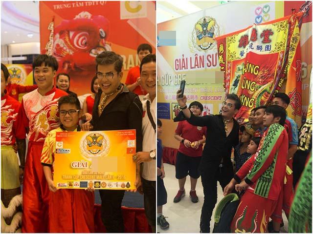 MC Thanh Bạch hào hứng với ngày hội Lân Sư Rồng dịp Trung thu