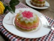 Bếp Eva - Vui Rằm tháng 8 với bánh Trung thu rau câu ngũ sắc