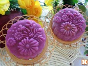 Bếp Eva - Cách tạo màu bánh dẻo từ củ dền đẹp mắt