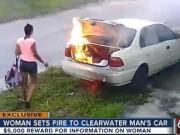 Tin tức - Cô gái Mỹ hả hê đốt xe người yêu cũ và cái kết dở khóc dở cười